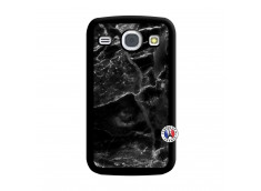 Coque Samsung Galaxy Core Black Marble Noir