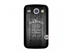 Coque Samsung Galaxy Core Old Jack Noir