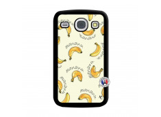 Coque Samsung Galaxy Core Sorbet Banana Split Noir