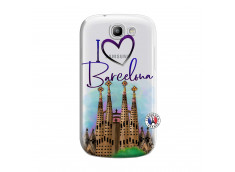Coque Samsung Galaxy Express I Love Barcelona