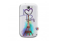 Coque Samsung Galaxy Express I Love Paris