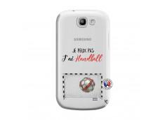 Coque Samsung Galaxy Express Je peux pas j'ai Handball