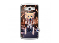 Coque Samsung Galaxy Grand 2 Cat Nasa Translu
