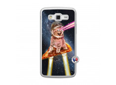 Coque Samsung Galaxy Grand 2 Cat Pizza Translu