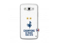 Coque Samsung Galaxy Grand 2 Champion Du Monde Translu