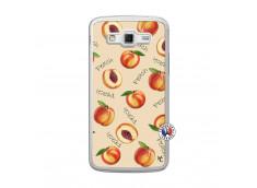 Coque Samsung Galaxy Grand 2 Sorbet Pêche Translu