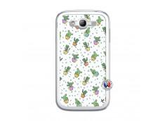 Coque Samsung Galaxy Grand Duos Le Monde Entier est un Cactus Translu
