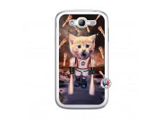 Coque Samsung Galaxy Grand Duos Cat Nasa Translu