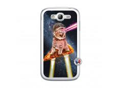 Coque Samsung Galaxy Grand Duos Cat Pizza Translu