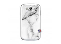 Coque Samsung Galaxy Grand Duos White Marble Translu