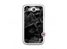 Coque Samsung Galaxy Grand Duos Black Marble Translu