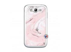 Coque Samsung Galaxy Grand Duos Marbre Rose Translu