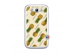 Coque Samsung Galaxy Grand Duos Sorbet Ananas Translu