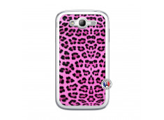 Coque Samsung Galaxy Grand Duos Pink Leopard Translu