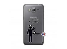 Coque Samsung Galaxy Grand Prime Je peux pas j'suis pilote