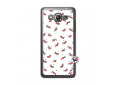 Coque Samsung Galaxy Grand Prime Cartoon Heart Translu