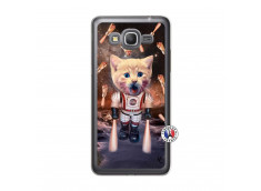 Coque Samsung Galaxy Grand Prime Cat Nasa Translu