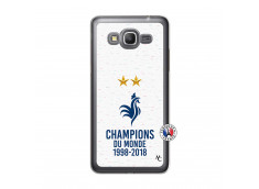 Coque Samsung Galaxy Grand Prime Champion Du Monde Translu