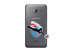 Coque Samsung Galaxy Grand Prime Coupe du Monde Rugby Fidji