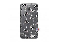 Coque Samsung Galaxy Grand Prime Cow Pattern