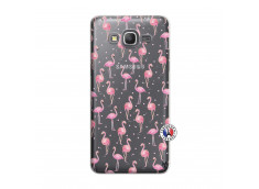 Coque Samsung Galaxy Grand Prime Flamingo