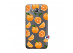 Coque Samsung Galaxy Grand Prime Orange Gina