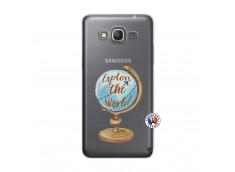 Coque Samsung Galaxy Grand Prime Globe Trotter