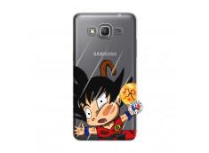 Coque Samsung Galaxy Grand Prime Goku Impact