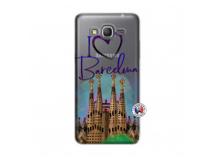 Coque Samsung Galaxy Grand Prime I Love Barcelona
