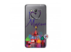 Coque Samsung Galaxy Grand Prime I Love Moscow