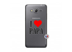 Coque Samsung Galaxy Grand Prime I Love Papa