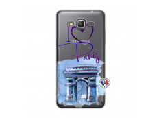 Coque Samsung Galaxy Grand Prime I Love Paris Arc Triomphe