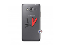 Coque Samsung Galaxy Grand Prime I Love You
