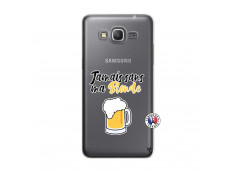 Coque Samsung Galaxy Grand Prime Jamais Sans Ma Blonde