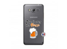 Coque Samsung Galaxy Grand Prime Jamais Sans Ma Rousse