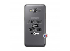 Coque Samsung Galaxy Grand Prime Je Dribble Comme Cristiano