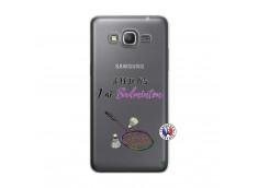Coque Samsung Galaxy Grand Prime Je Peux Pas J Ai Badminton
