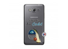 Coque Samsung Galaxy Grand Prime Je peux pas j'ai cricket