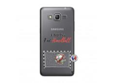 Coque Samsung Galaxy Grand Prime Je peux pas j'ai Handball
