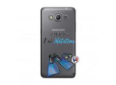 Coque Samsung Galaxy Grand Prime Je Peux Pas J Ai Natation