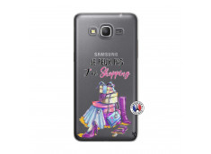 Coque Samsung Galaxy Grand Prime Je Peux Pas J Ai Shopping