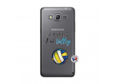 Coque Samsung Galaxy Grand Prime Je Peux Pas J Ai Volley