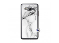 Coque Samsung Galaxy Grand Prime White Marble Translu