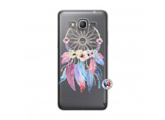 Coque Samsung Galaxy Grand Prime Multicolor Watercolor Floral Dreamcatcher