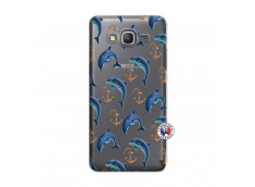 Coque Samsung Galaxy Grand Prime Dauphins