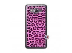 Coque Samsung Galaxy Grand Prime Pink Leopard Translu