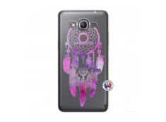 Coque Samsung Galaxy Grand Prime Purple Dreamcatcher