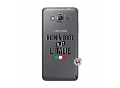 Coque Samsung Galaxy Grand Prime Rien A Foot Allez L'Italie