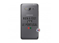 Coque Samsung Galaxy Grand Prime Rien A Foot Allez Le Portugal