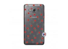Coque Samsung Galaxy Grand Prime Rose Pattern